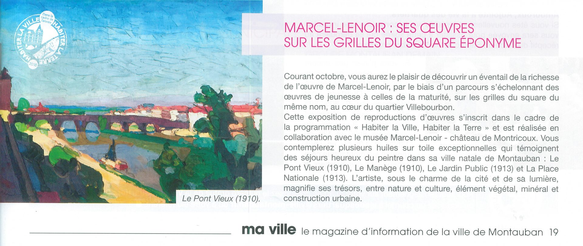 Ornementation Square Marcel-Lenoir
